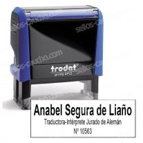 Sello Oficial Automático Traductor-Intérprete Jurado