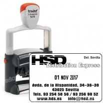 Fechador Trodat Professional 5470 - Medida: 60 x 40 mm