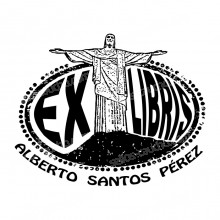 EX LIBRIS CRISTO CORCOVADO