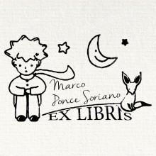Ex Libris el Principito y el Zorro