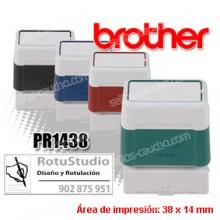 Brother DigiStamp PR-1438 - 38 x 14 mm