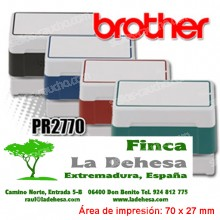 Brother DigiStamp PR-2770 - 70 x 27 mm