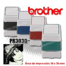 Brother DigiStamp PR-3030 - 30 x 30 mm