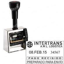 Fechador Numerador DN53A-5  Medida: 50 x 30 mm