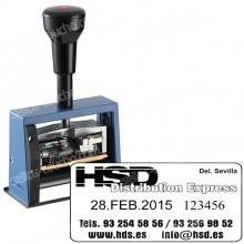 Numerador Fechador ND65A - Medida: 65 x 30 mm