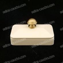 Tampón DecoDesk Madera Blanco para Sellos Manuales