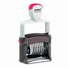 Sello Doble Fechador Trodat Professional 5466/PL 56x33 mm
