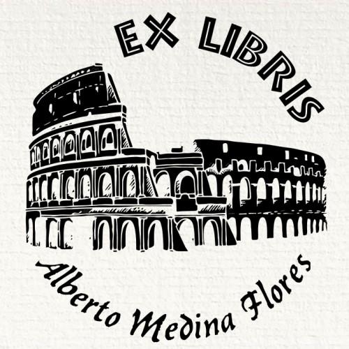 Ex Libris Coliseo de Roma