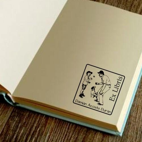 Libro sello béisbol