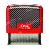 Shiny Printer S-852 - 38 x 14 mm