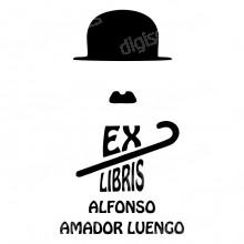 Ex Libris Charlie Chaplin