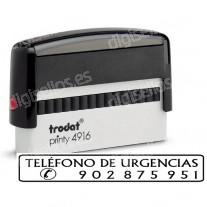Trodat Printy 4916 to 70 x 10 mm