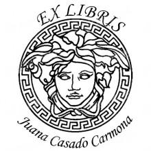 EX LIBRIS Greek woman