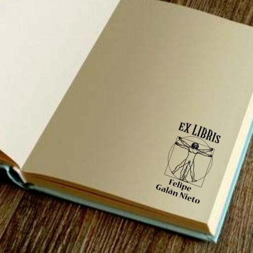Libro Sello Hombre de Vitruvio