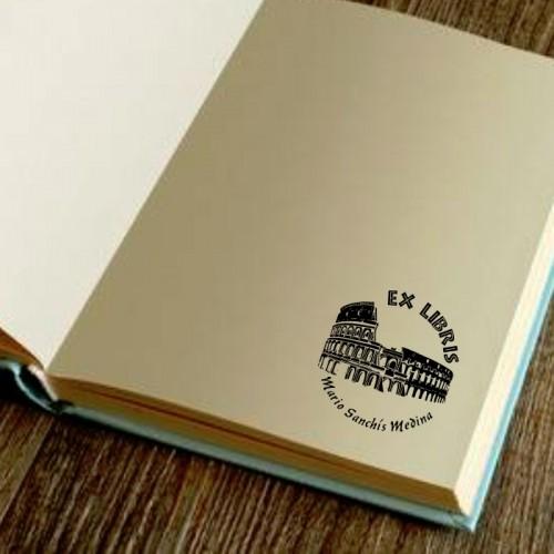 Libro Sello Coliseo de Roma