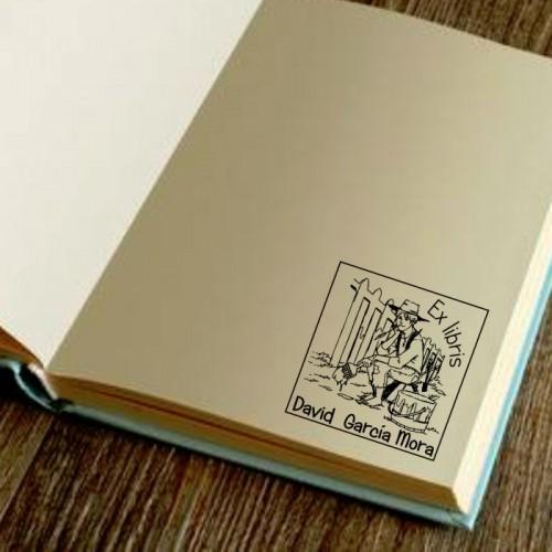 Libro Sello Tom Sawyer