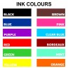 Ink  Pad Colours