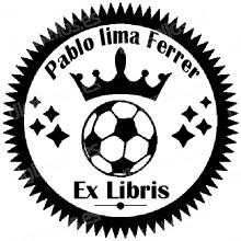 Ex Libris BALON DE FUTBOL