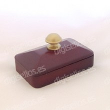 Decodesk tampon en bois timbres à main