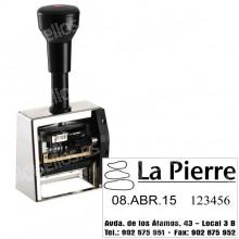 Closer numeratore DN53A-6 Dimensioni: 50 x 30 mm