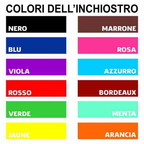 Colori Inchiostro Timbri