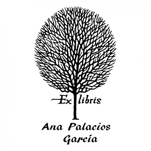 Ex Libris Árbol Otoño
