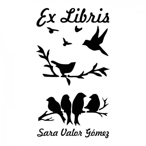 Ex Libris Pájaros