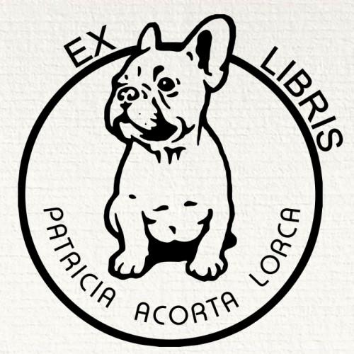 Ex libris bulldog ingles