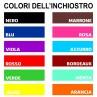 Colore del tampone di inchiostro per timbri