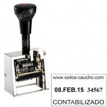 Fechador Numerador DN41A  Medida: 45 x 25 mm