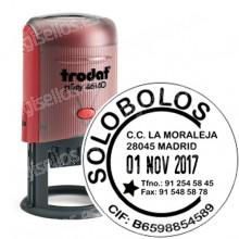 Fechador Trodat Printy 46140 Medida: 40 mm Ø