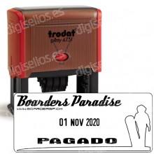 Fechador Trodat Printy 4731 Medida: 70 x 30 mm