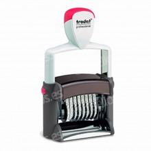 Fechador + Numerador Trodat Professional 55460-PL 56x33 mm