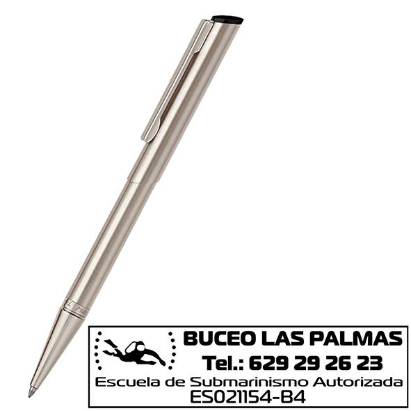 Bolígrafos con Sello Incorporado Heri 3004